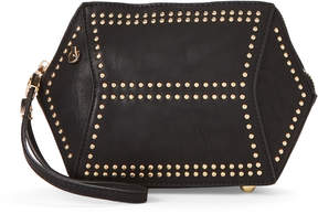 Urban Expressions Black Lark Studded Vegan Crossbody