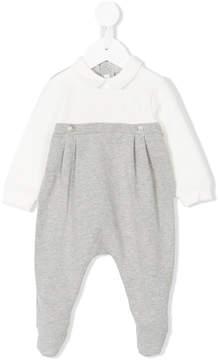 Il Gufo cutaway collar pyjama
