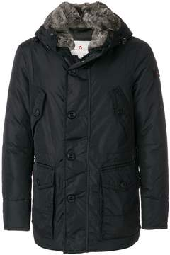 Peuterey fur trim hooded jacket