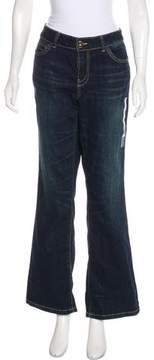 DKNY Mid-Rise Wide-Leg Jeans w/ Tags