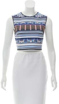 Clover Canyon Digital Printed Cropped Top