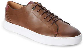 English Laundry Cognac & Burgundy Tudor Low Top Sneakers