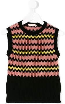 Marni patterned sleeveless top