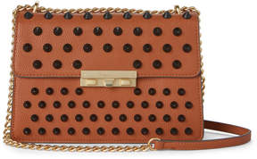 Foley + Corinna Cognac Slumber Nights Studded Bag