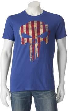 Marvel Men's The Punisher American Flag Tee
