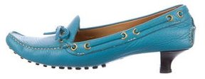 Car Shoe Leather Loafer Pumps