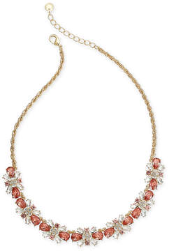 Charter Club Multi-Crystal Cluster Collar Necklace, 16 + 2 extender, Created for Macy's