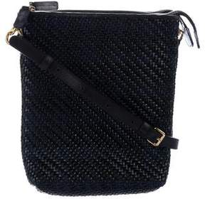 Marni Woven Leather Dual-Zip Bag