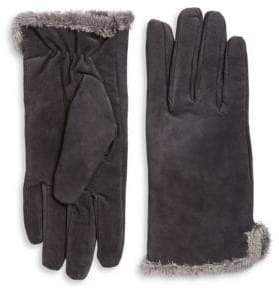 Isotoner Genuine Suede Gloves