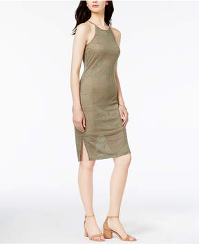 Bar III Burnout Bodycon Dress, Created for Macy's