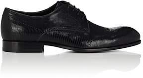 Emporio Armani Men's Stamped-Leather Wingtip Bluchers