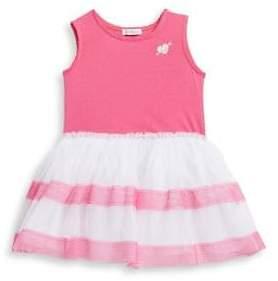 Flapdoodles Little Girl's Striped Tutu Dress