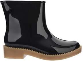Melissa Women's Black Pvc Ankle Boots.