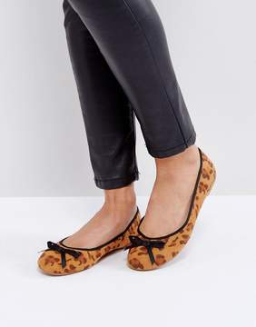 London Rebel Ballerina Pumps