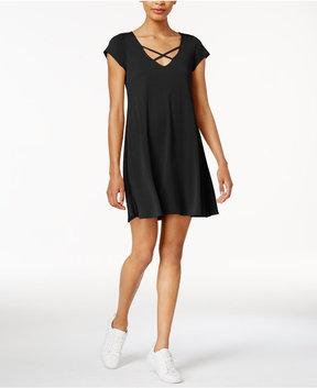 Bar III Crisscross Shift Dress, Created for Macy's