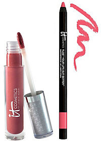 It Cosmetics Perfect Lip Hydrating Gloss & Liner Stain Duo