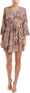 Collective Concepts Tie-Waist Mini Dress