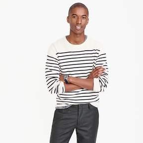 J.Crew Italian cashmere crewneck sweater in nautical stripe