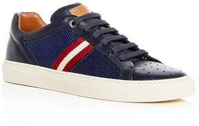 Bally Men's Herk Leather & Mesh Lace Up Sneakers