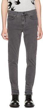 McQ Grey Strummer Jeans
