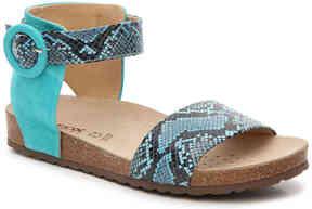Geox Women's Zayna Flat Sandal