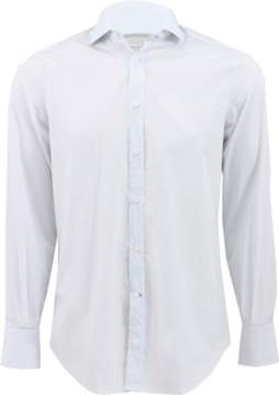 Brunello Cucinelli Windowpane Spread Collar Shirt