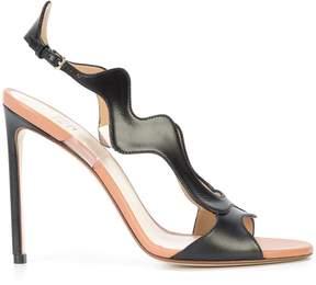 Francesco Russo wavy sandals