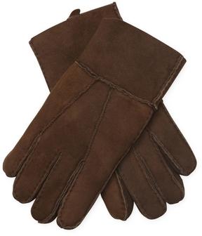 Portolano Men's Patchwork Shearling Gloves