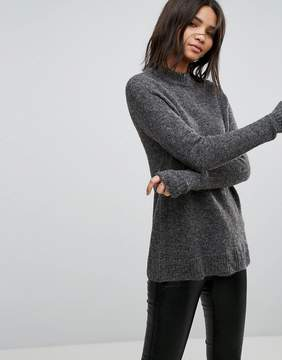 B.young Fluffy Mohair Mix Sweater