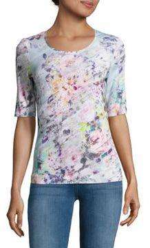 Basler Floral-Print Top