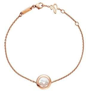 Chopard Happy Diamonds 18K Rose Gold Bracelet