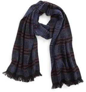 Canali Men's Plaid Wool Blend Scarf