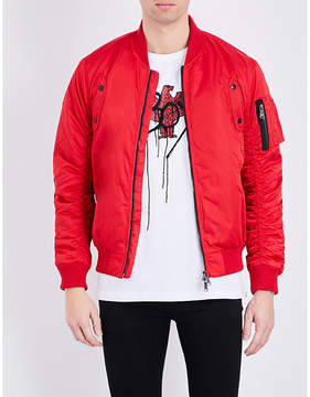 Boy London Eagle paraglide shell bomber jacket