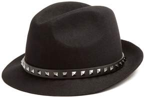 VALENTINO Rockstud fur-felt hat