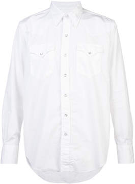 Engineered Garments long-sleeve fitted shirt