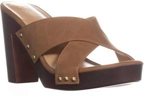 Thalia Sodi Ts35 Ivanna Platform Mule Sandals, Camel.