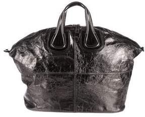Givenchy Large Metallic Nightingale Bag
