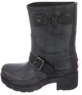 Hunter Distressed Short Boots