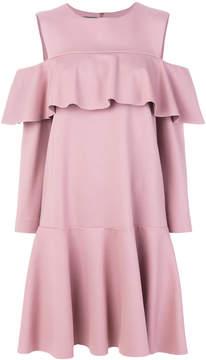 Alberta Ferretti flared peplum dress