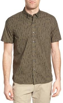 Michael Bastian Safari Print Sport Shirt