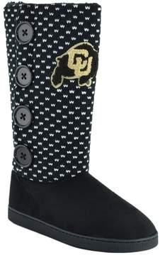 NCAA Women's Colorado Buffaloes Button Boots