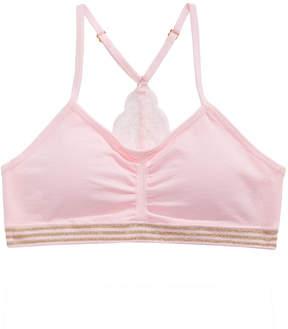 Maidenform 2-Pc. Lace-Back Bra & Underwear Set, Little & Big Girls