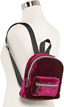 Asstd National Brand Cyndee Velvet Backpack