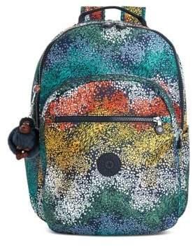 Kipling Patterned Backpack - POSIES - STYLE