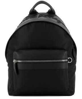 Salvatore Ferragamo Black Fabric Backpack