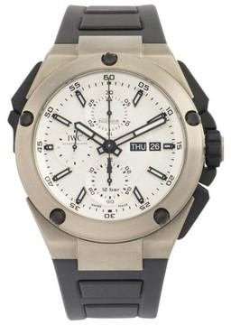 IWC Ingenieur Double Chronograph IW386501 Titanium Watch