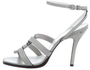 Jil Sander Woven Ankle Strap Sandals