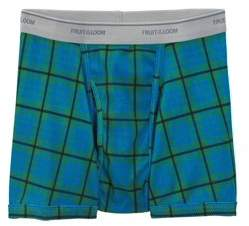 Fruit of the Loom Men's Print and Solid Short Leg Boxer Briefs, 5-Pack