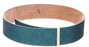 Jimmy Choo Glitter Waist Belt