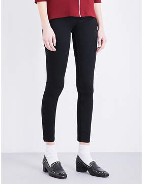 Claudie Pierlot Powerful Bis skinny high-rise jeans